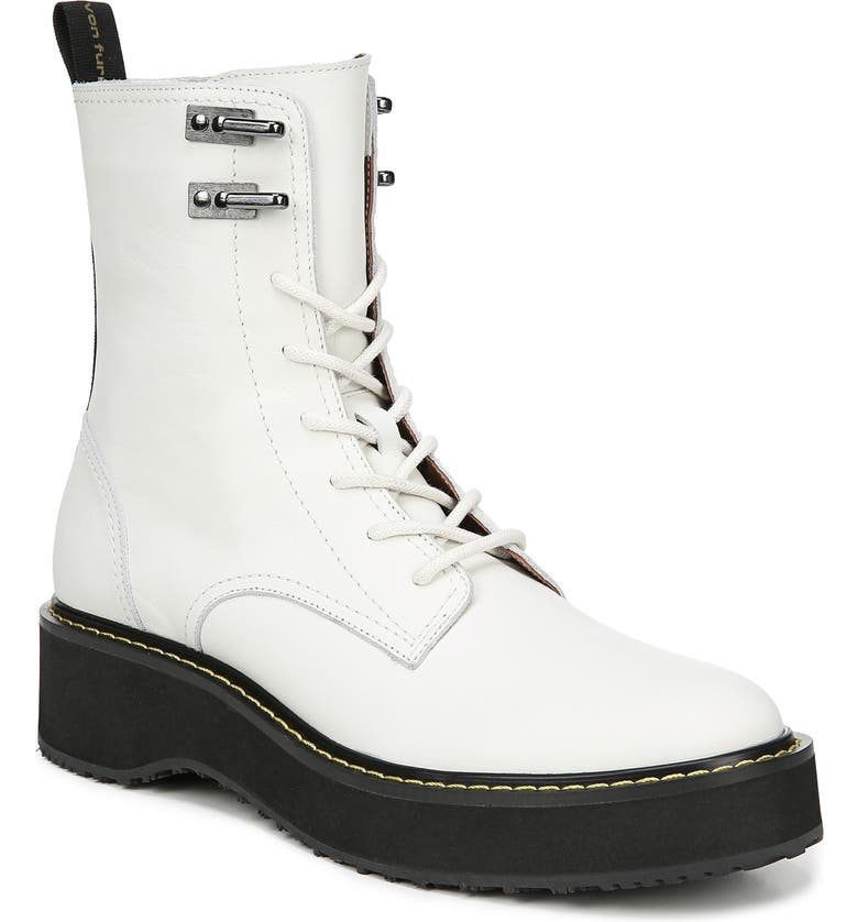 DIANE VON FURSTENBERG In Charge Boot, Main, color, WHITE