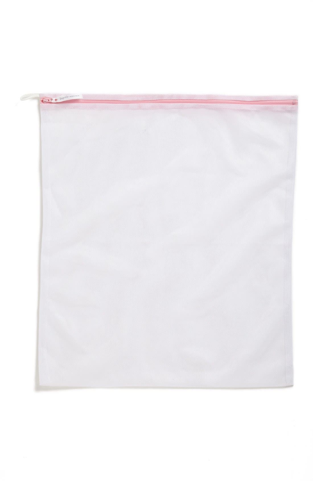,                             Large Lingerie Wash Bag,                             Alternate thumbnail 2, color,                             WHITE