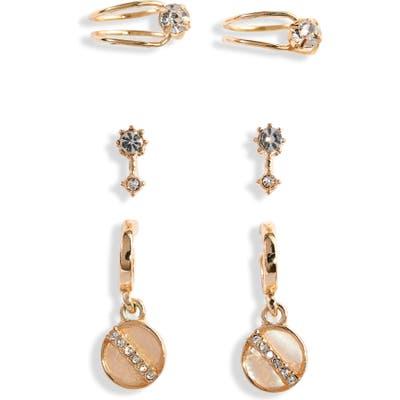 Bp. X Claudia Sulewski Set Of 3 Ear Cuffs & Earrings