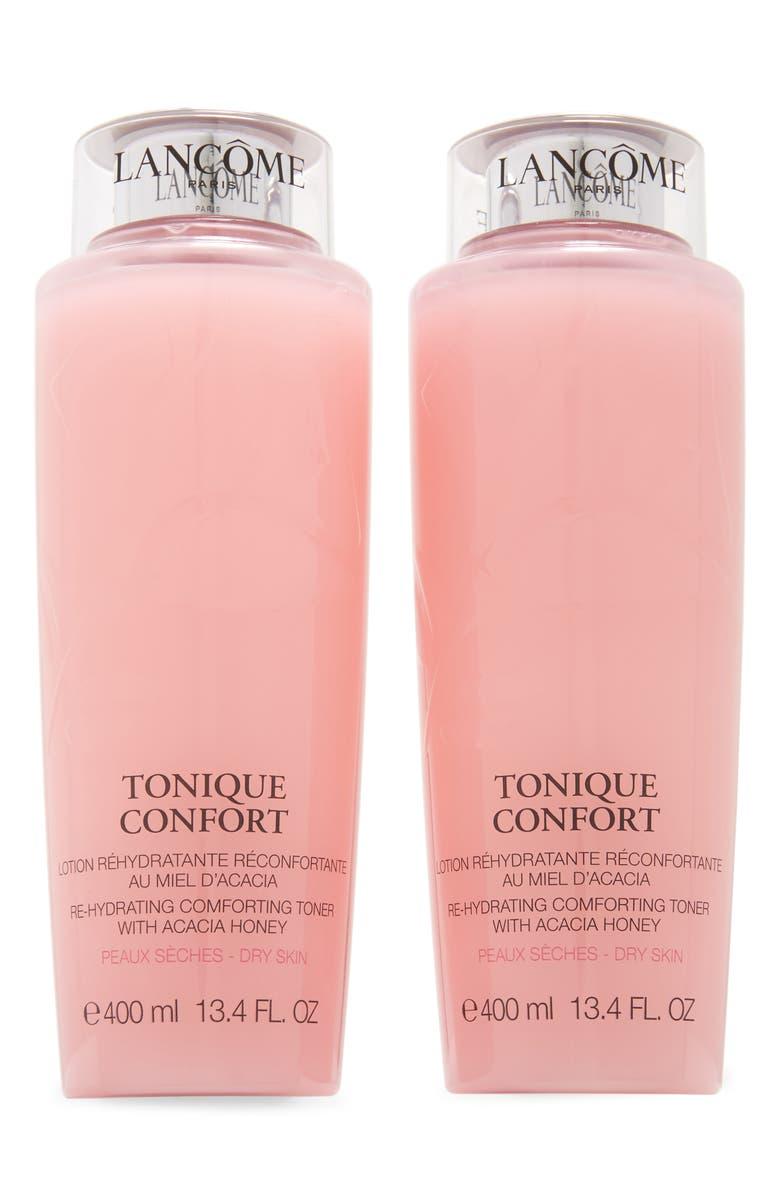 LANCÔME Tonique Confort Comforting Rehydrating Toner Duo, Main, color, NO COLOR