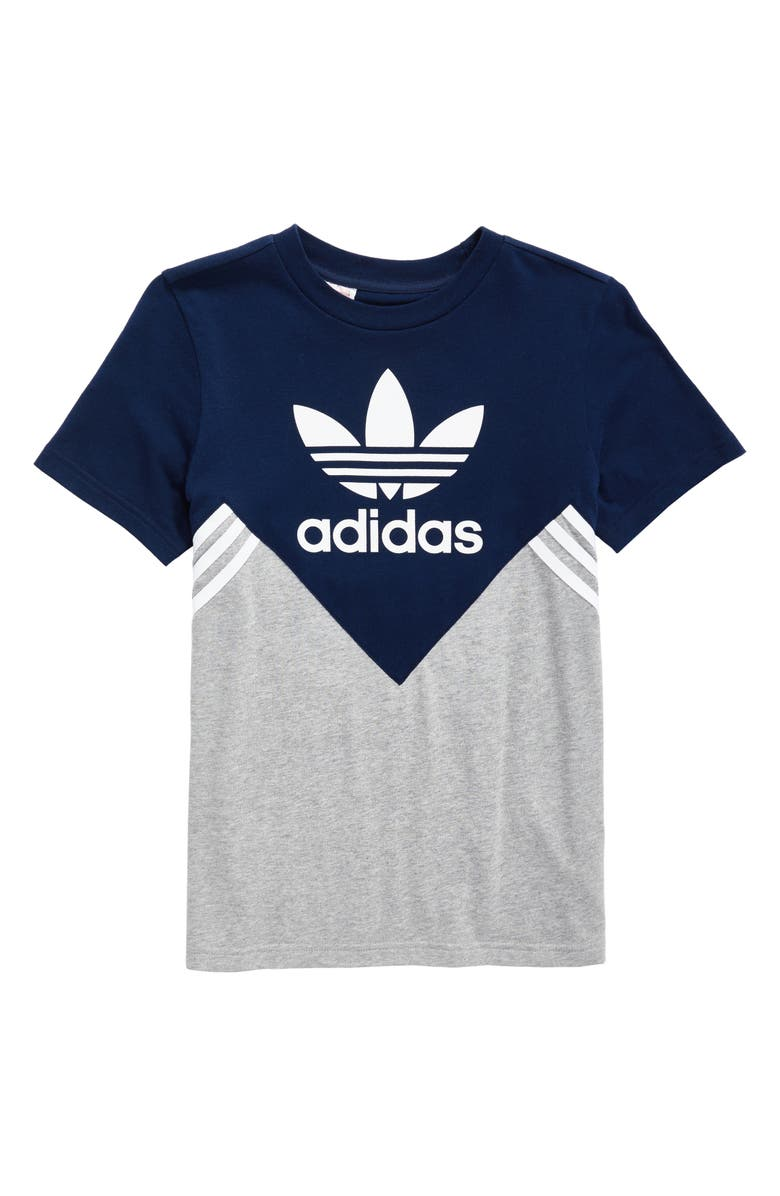 Adidas Fl Logo Graphic T Shirt Little Boys Nordstrom