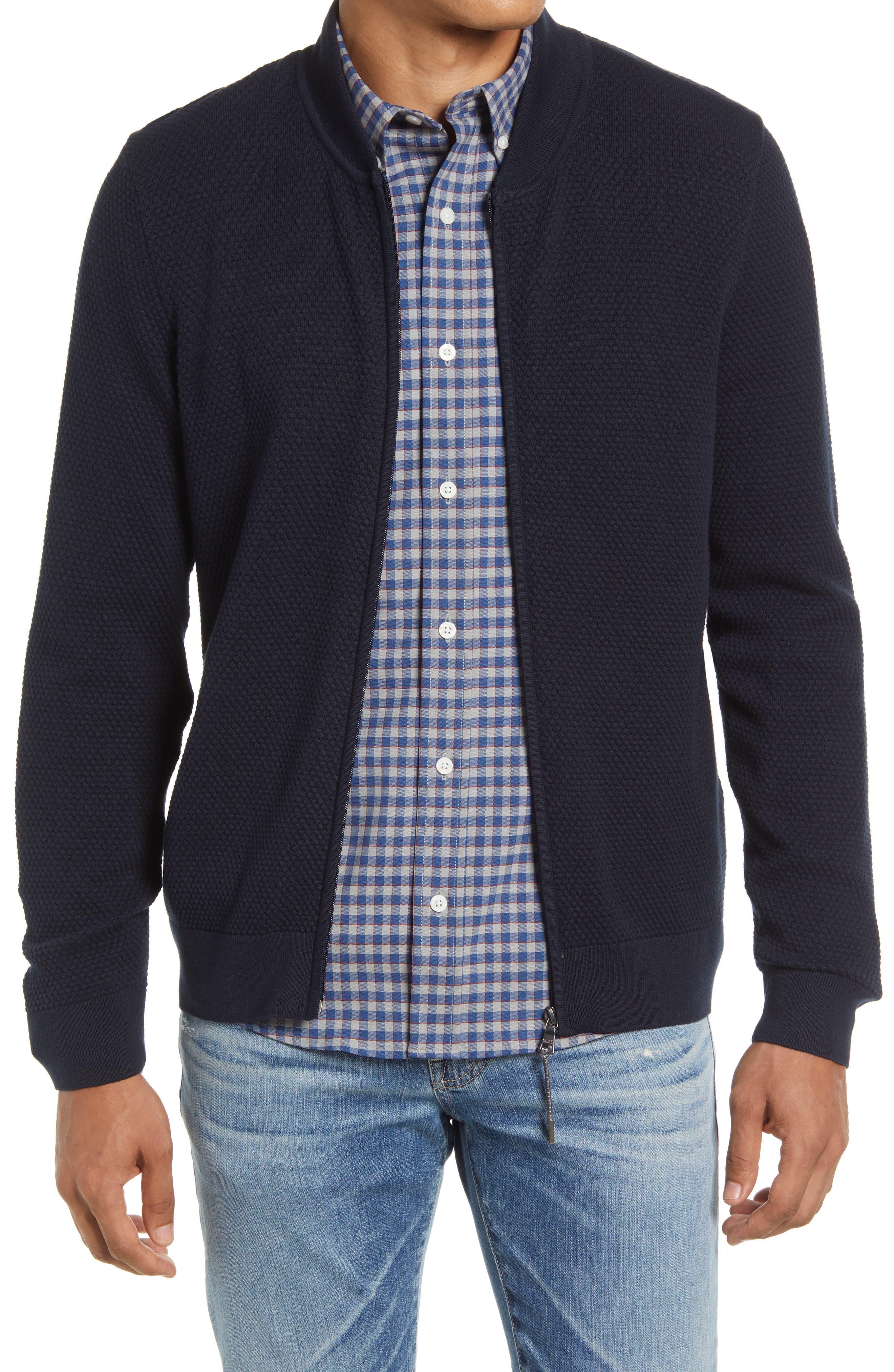 Joshua Hi Flex Honeycomb Cotton Blend Jacket