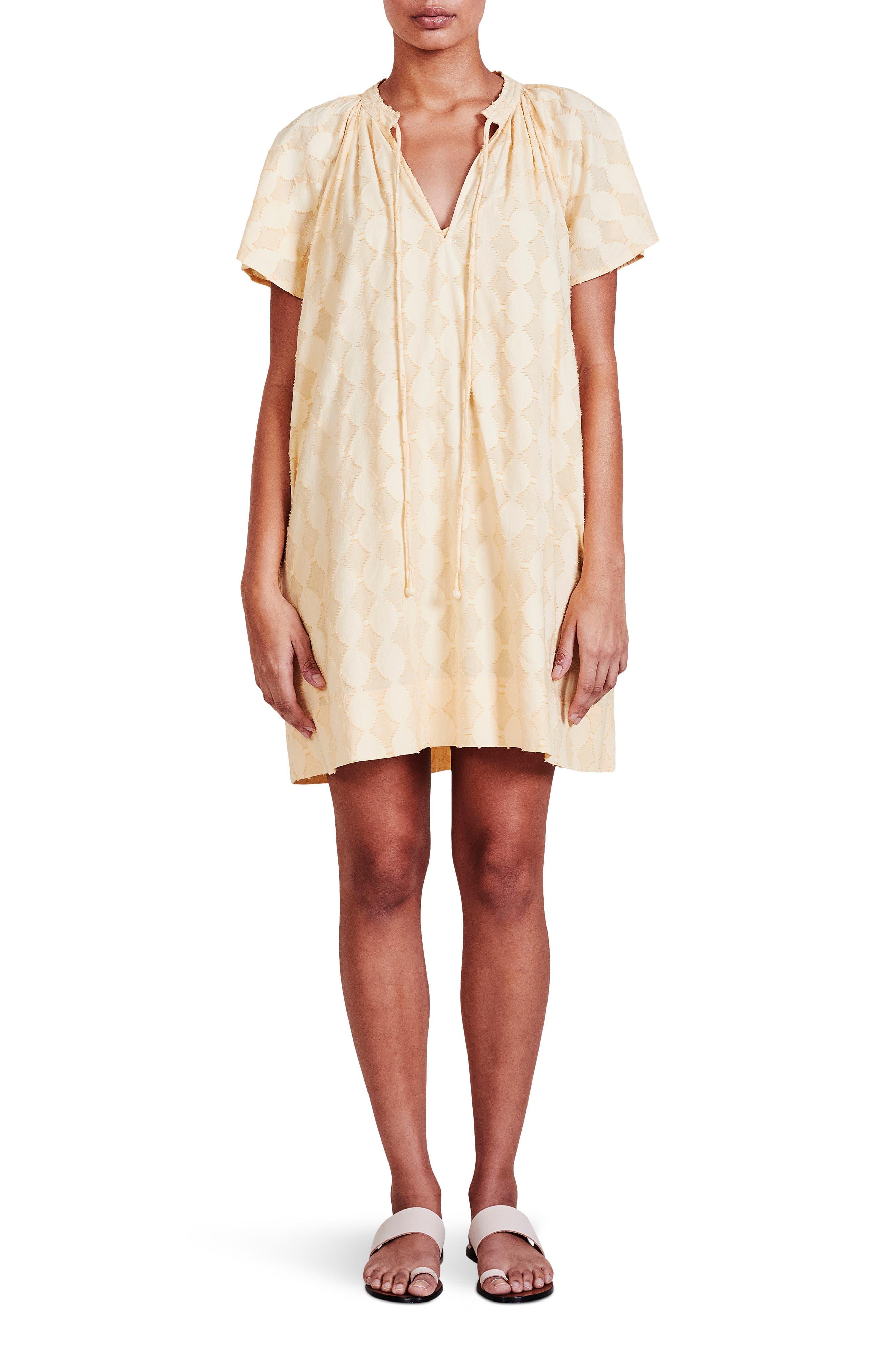 Sur Clip Dot Shift Dress