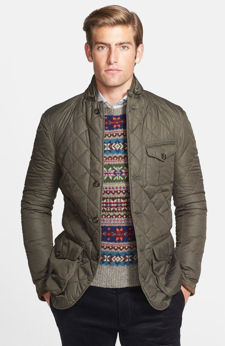 3d94c200 'Northfield' Waxed Quilted Sport Coat Jacket