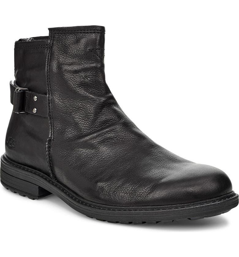 UGG<SUP>®</SUP> Morrison Boot, Main, color, BLACK