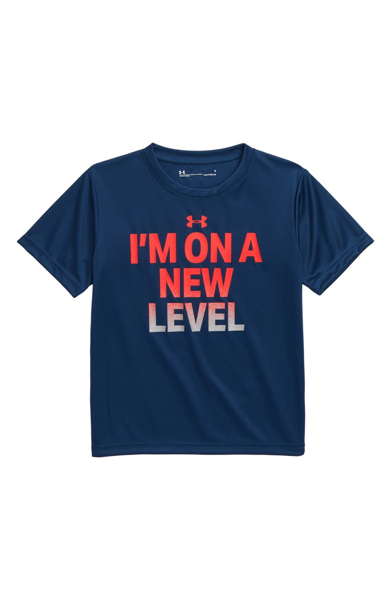 UNDER ARMOUR I'm on a New Level T-Shirt, Main, color, 420