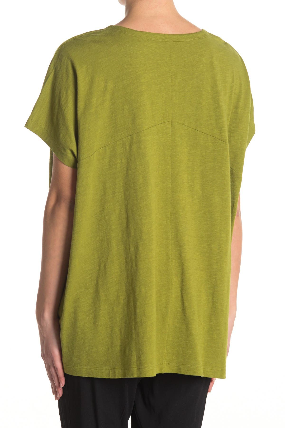 Image of Eileen Fisher V-Neck Boxy Fit Top