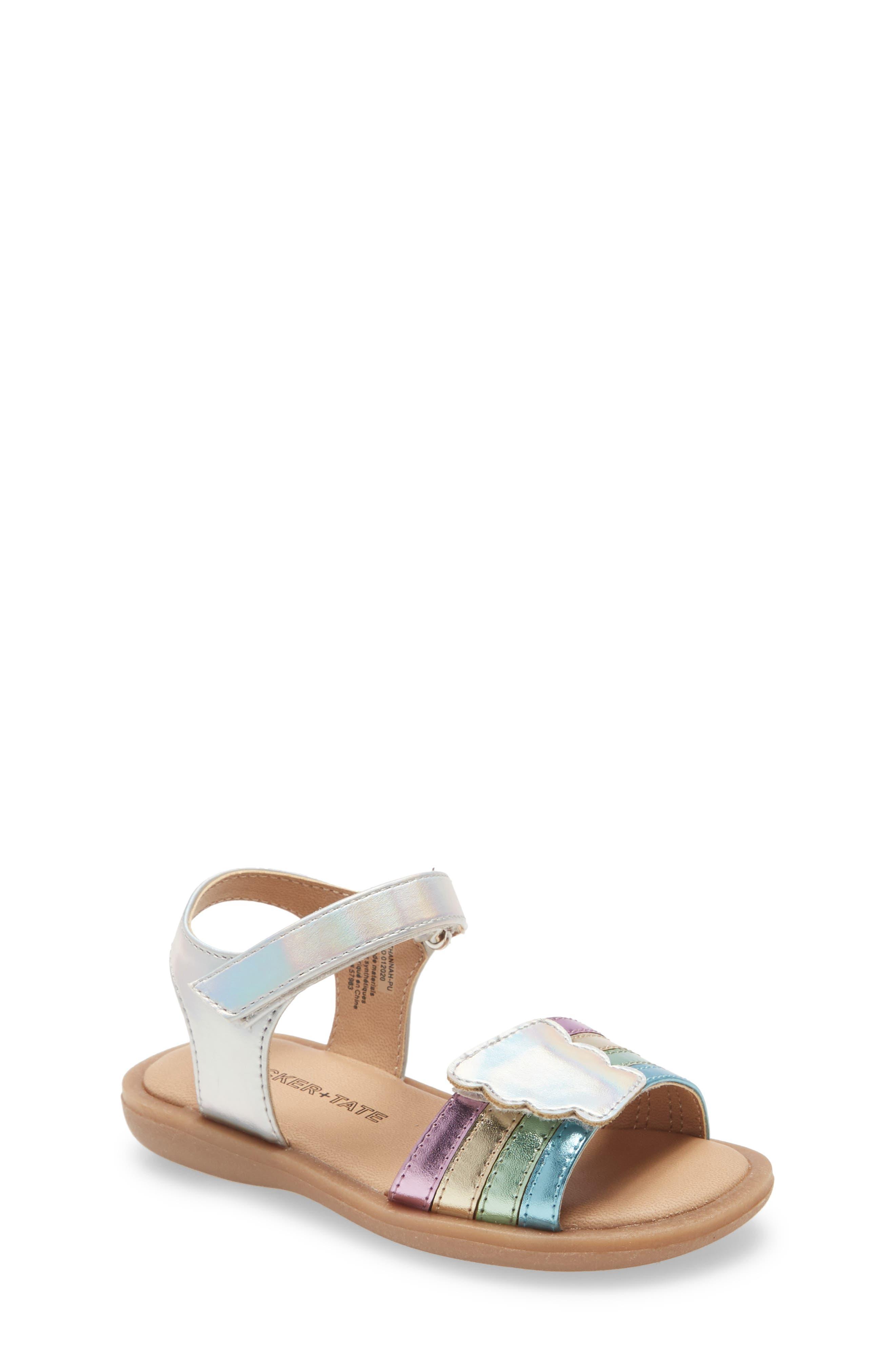 Tucker + Tate Rainbow Sandal (Toddler