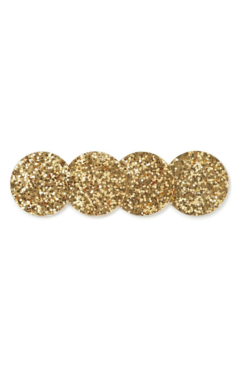 KATE SPADE NEW YORK 'happy hour glitter' coasters, Main, color, 710