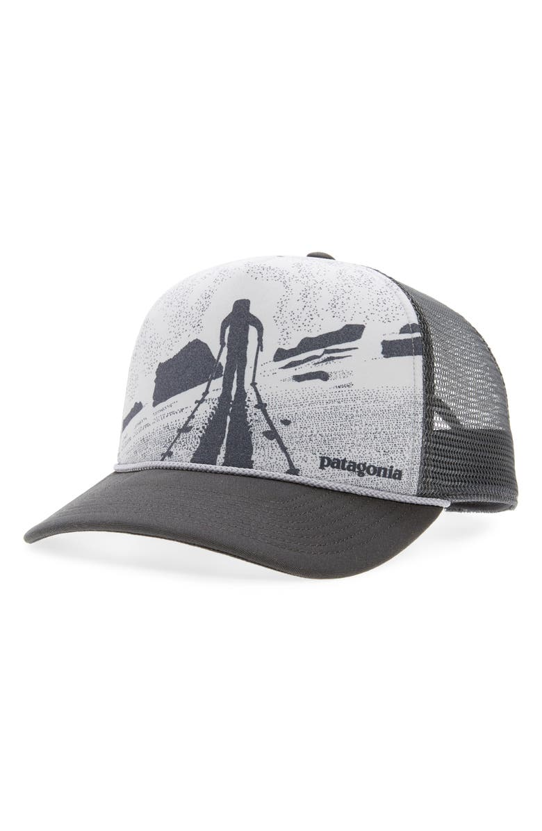 PATAGONIA Breaking Trail Interstate Trucker Hat, Main, color, 020