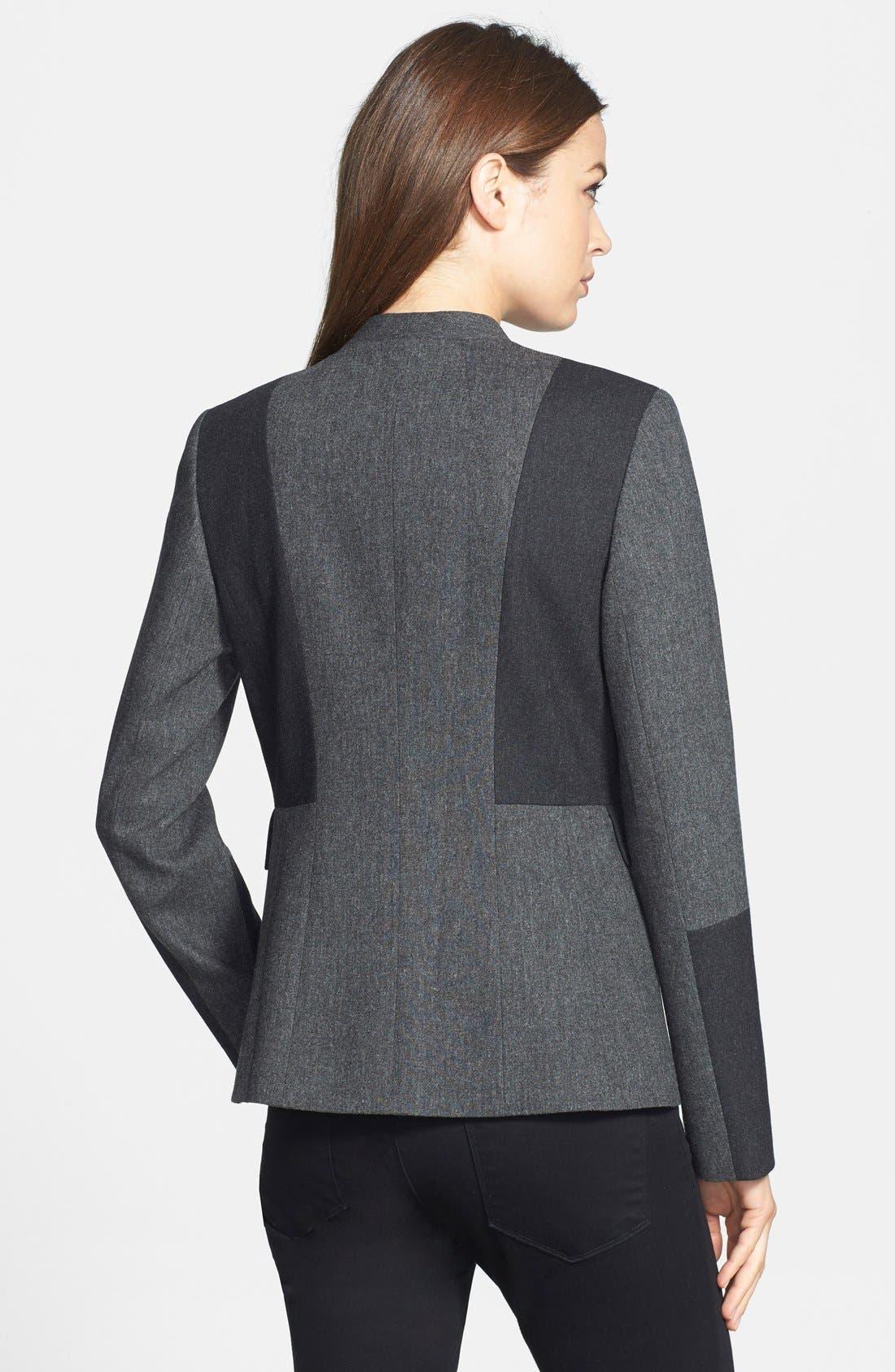 ,                             'Jesi' Colorblock Flannel Jacket,                             Alternate thumbnail 2, color,                             030