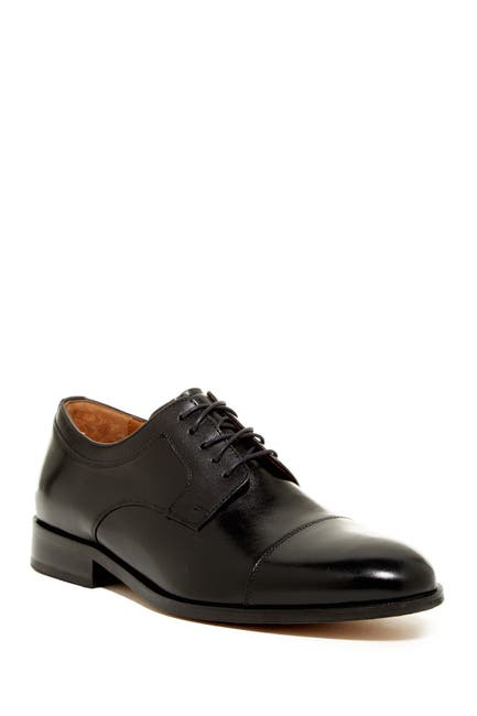 Image of Johnston & Murphy Hernden Cap Toe Derby - Wide Width Available