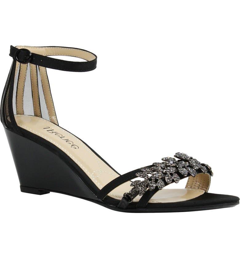 J. RENEÉ Mariabelle Ankle Strap Sandal, Main, color, 001