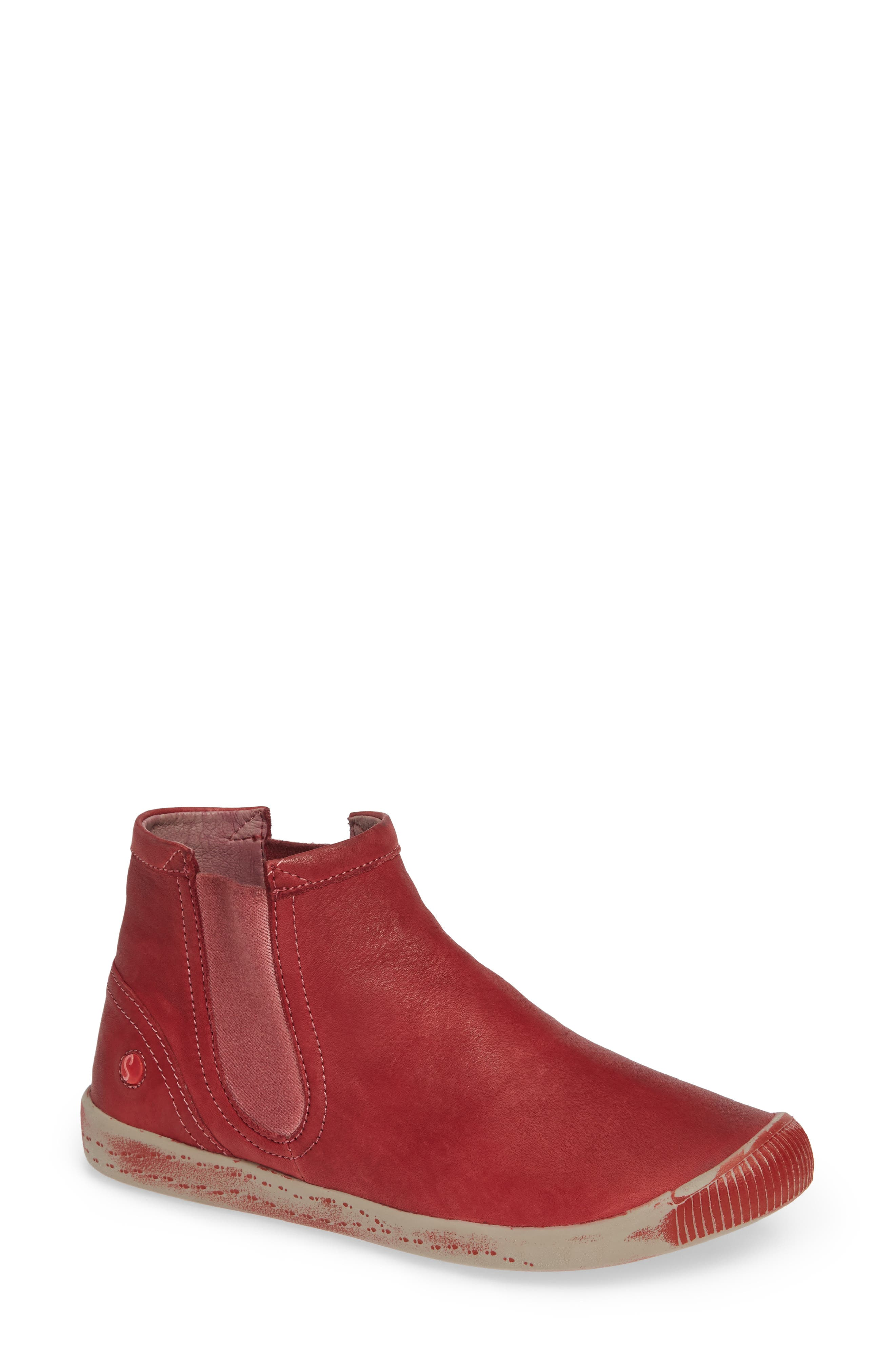 Softinos By Fly London Ici Sneaker - Red