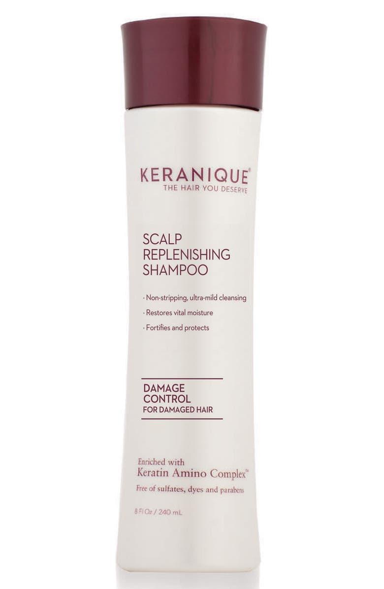 KERANIQUE Scalp Replenishing Shampoo Damage Control, Main, color, 000