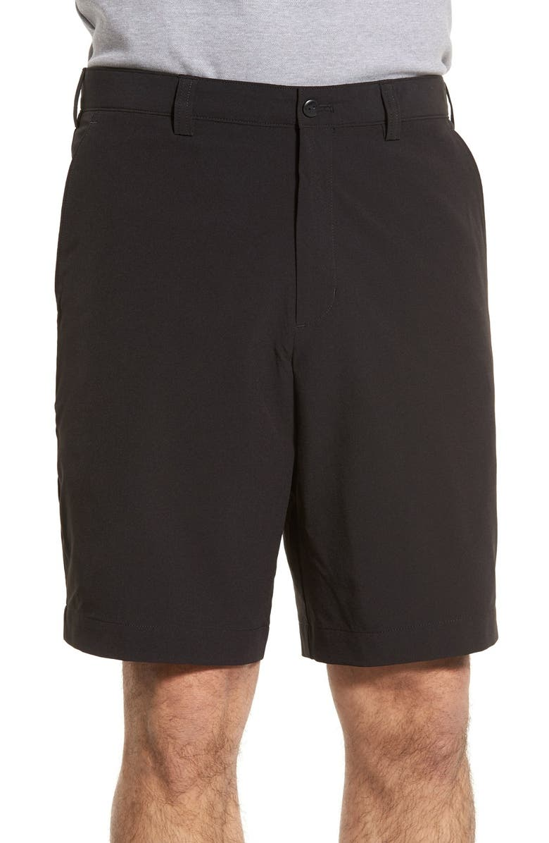 CUTTER & BUCK 'Bainbridge' DryTec Shorts, Main, color, BLACK