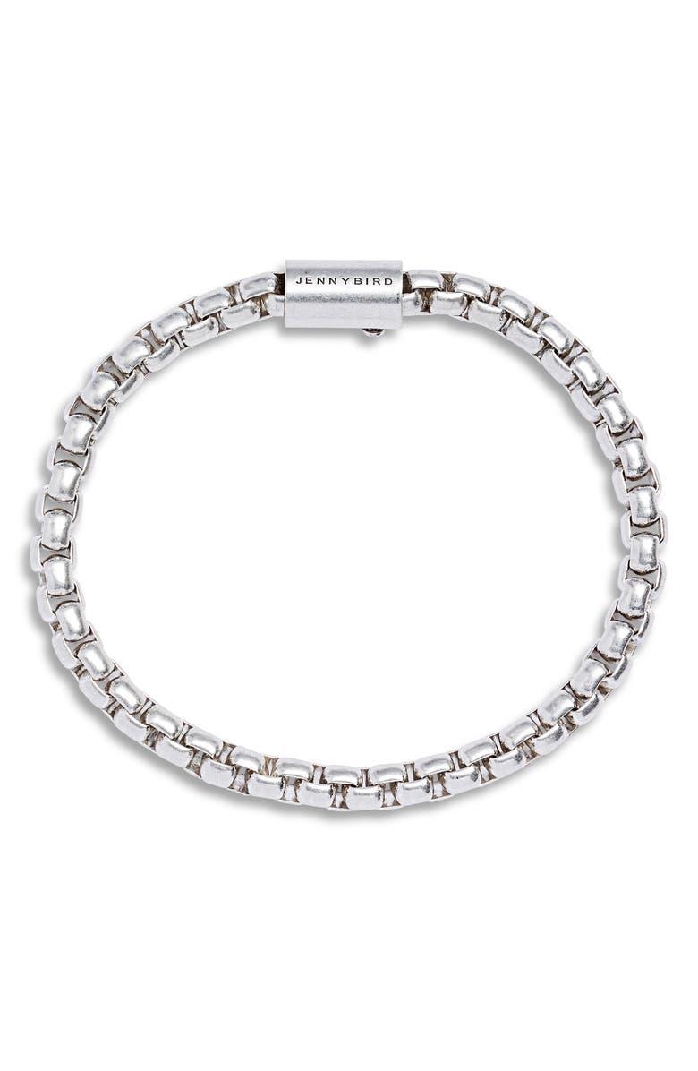 JENNY BIRD Freya Chain Bracelet, Main, color, SILVER