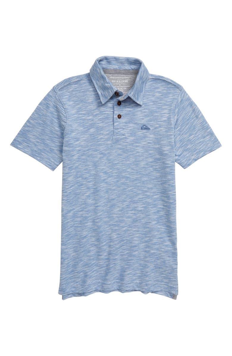 QUIKSILVER Everyday Sun Cruise Polo, Main, color, QUIET HARBOR
