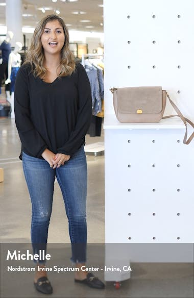 The Abroad Leather Shoulder Bag, sales video thumbnail