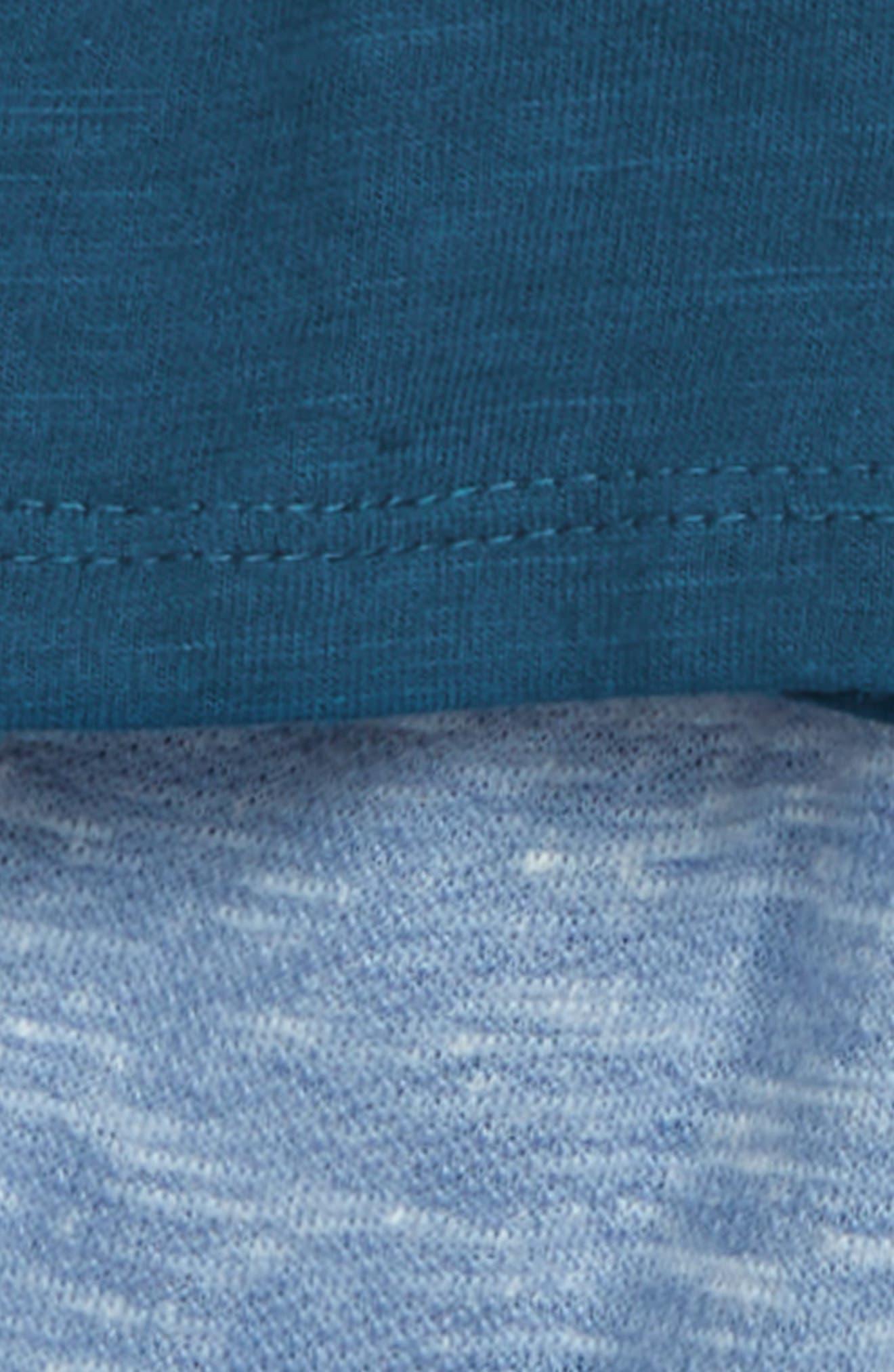 ,                             Henley Shirt & Stripe Shorts Set,                             Alternate thumbnail 2, color,                             FRESH INK