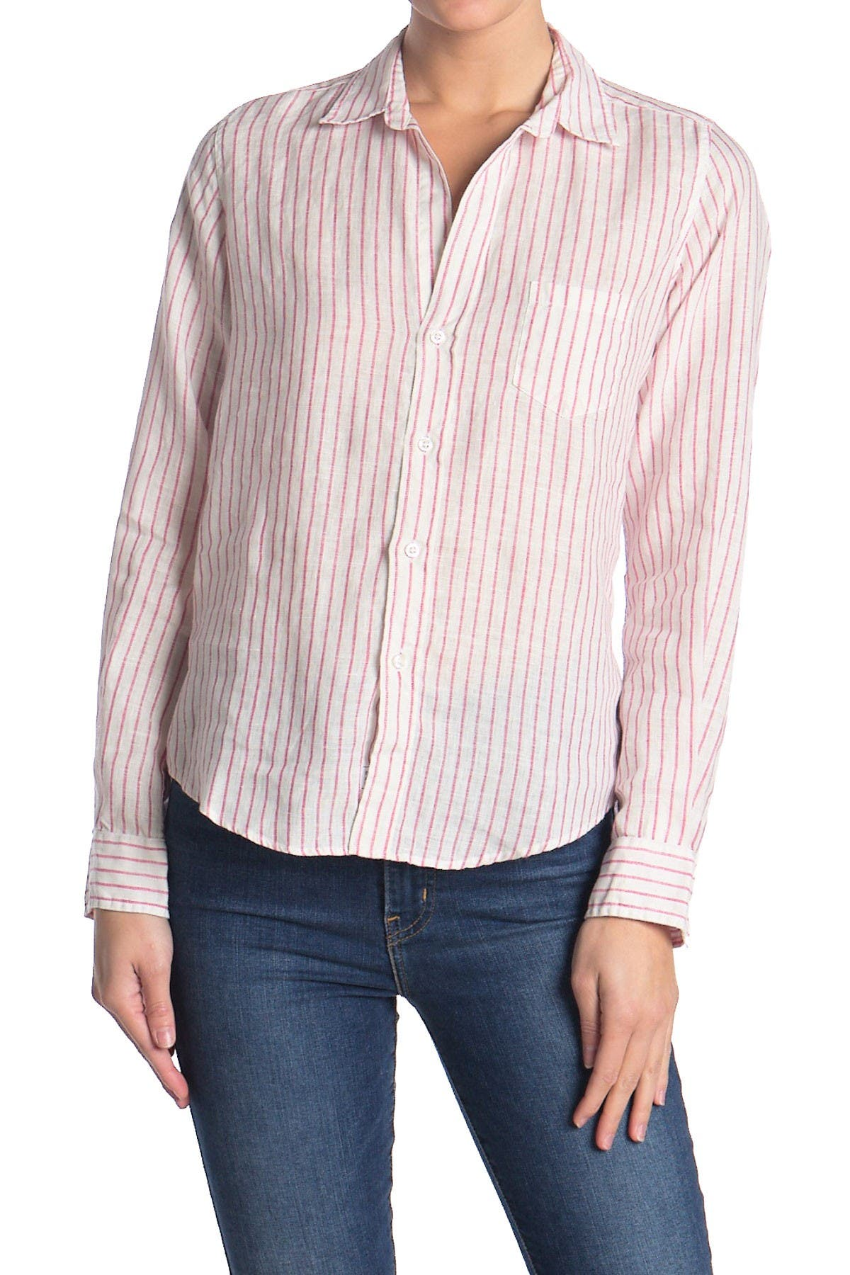 Image of FRANK & EILEEN Barry Striped Classic Tailored Fit Shirt