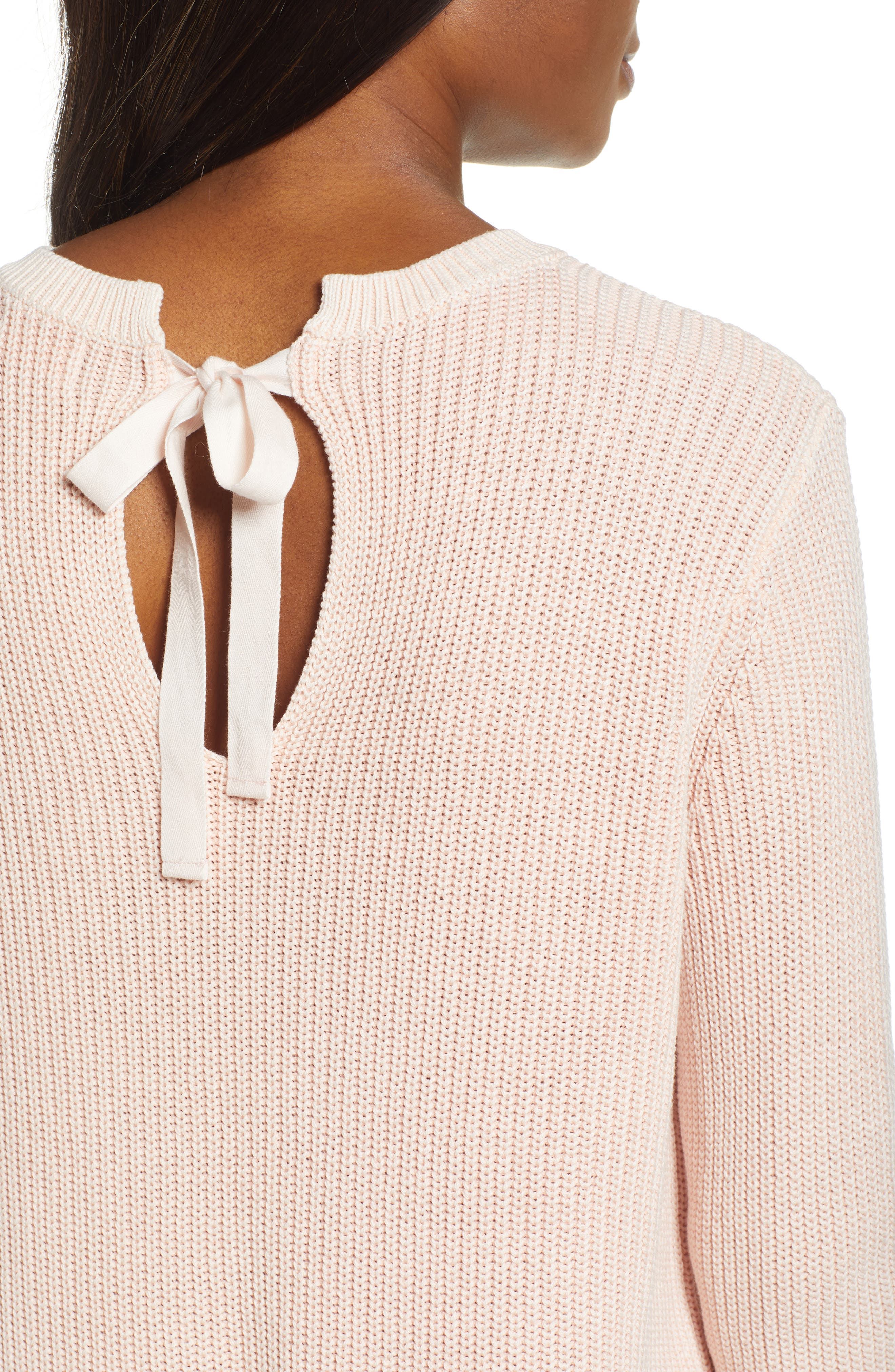 ,                             Tie Back Tunic Sweater,                             Alternate thumbnail 40, color,                             681