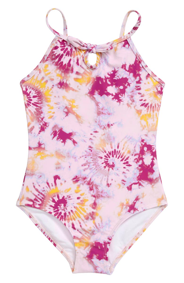 SEED HERITAGE Tie Dye One-Piece Swimsuit, Main, color, 650