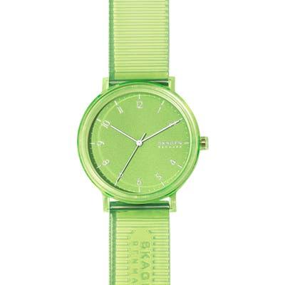 Skagen Aaren Clear Strap Watch, 41Mm