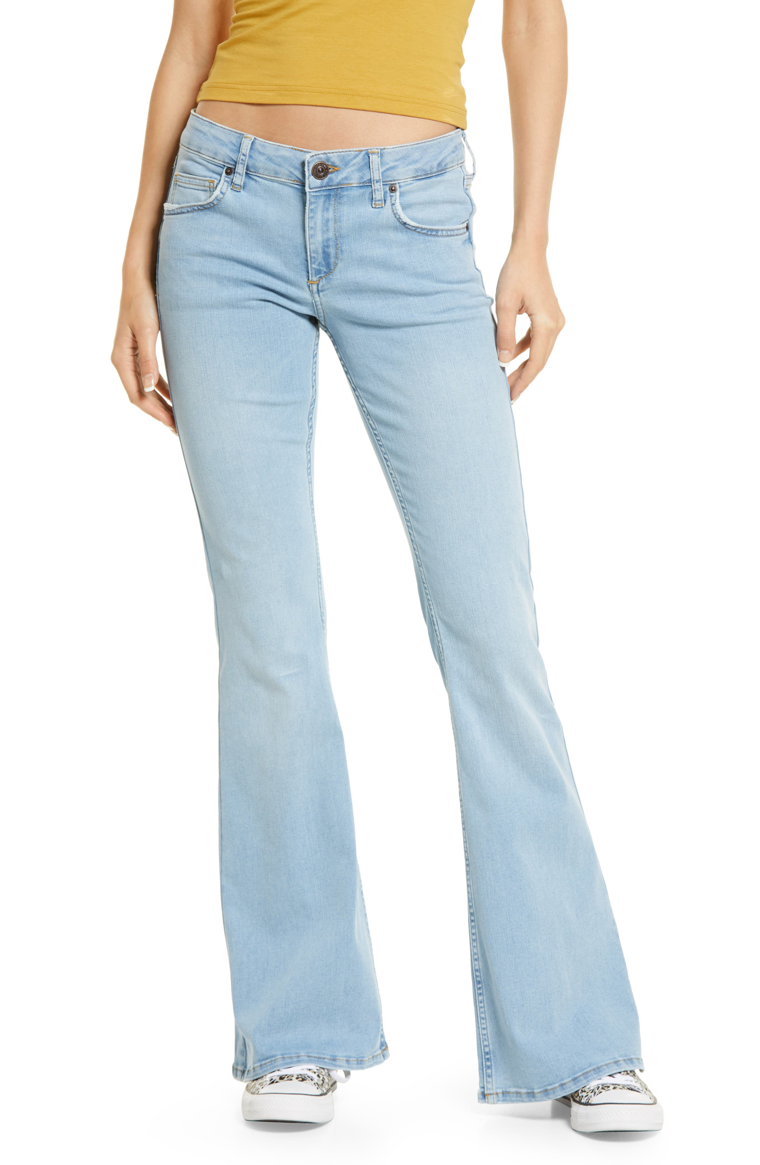 Women's BDG Urban Outfitters Low Rise Flare Jeans