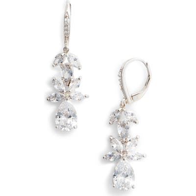 Nina Floral Cubic Zirconia Earrings