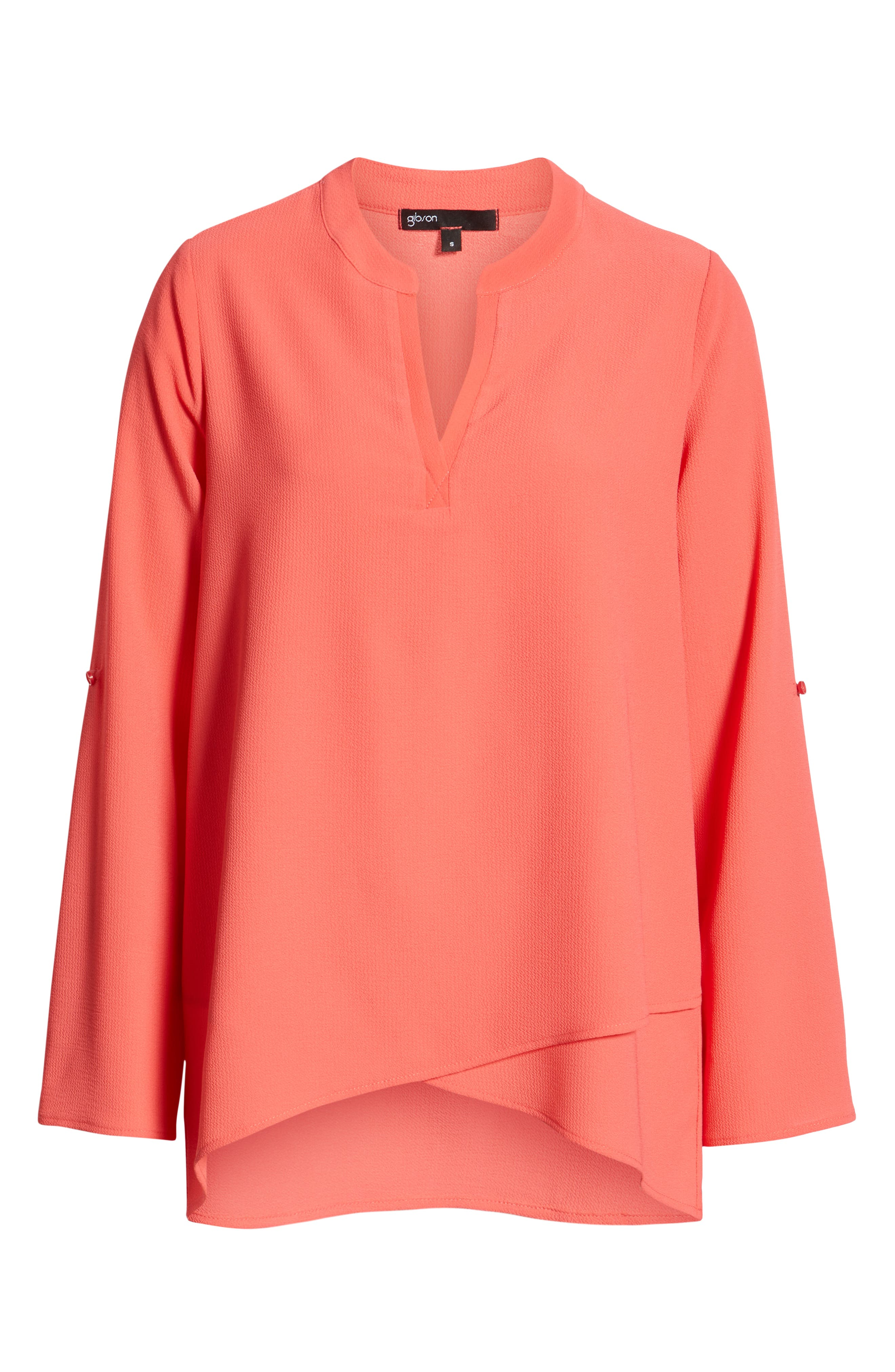 ,                             x International Women's Day Erin Cross Front Tunic Blouse,                             Alternate thumbnail 65, color,                             650