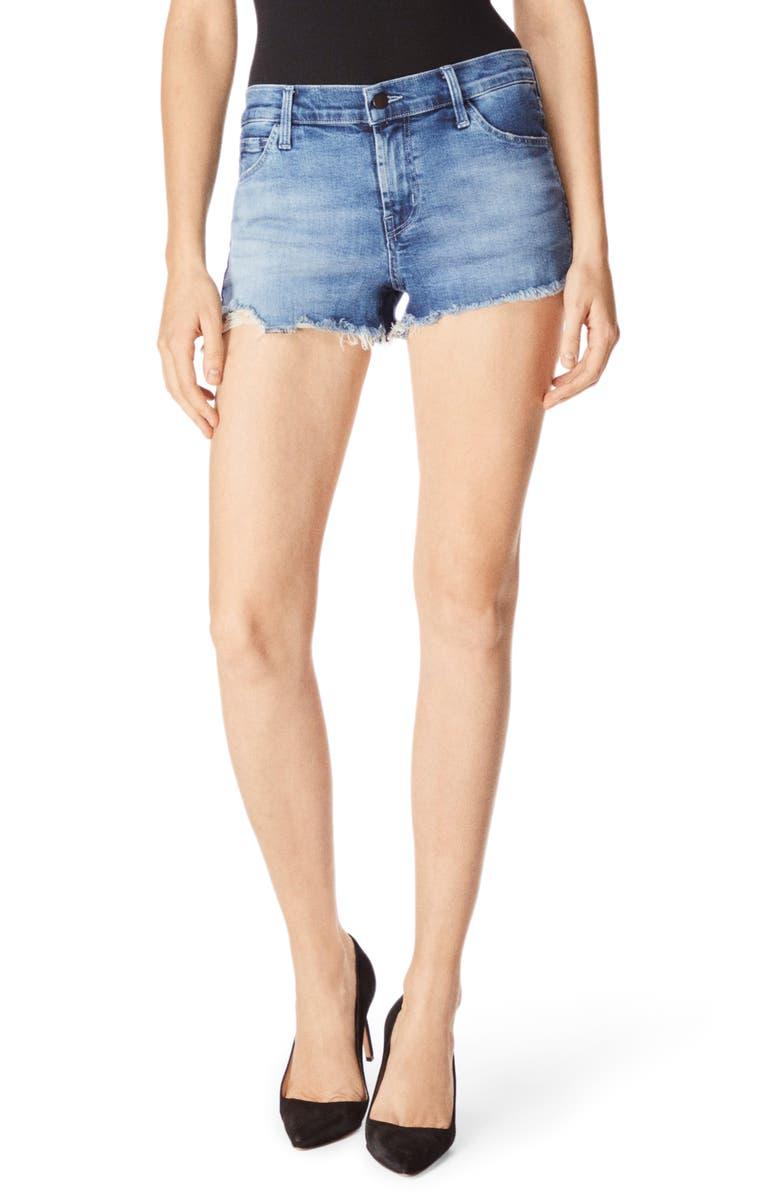J BRAND 1044 Cutoff Denim Shorts, Main, color, EPSILON