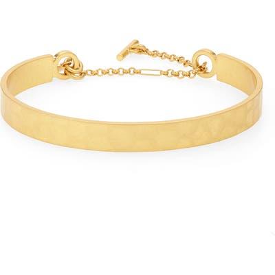 Madewell Hammered Cuff Bracelet