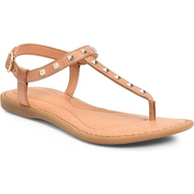 B?rn Adana Studded Sandal, Brown