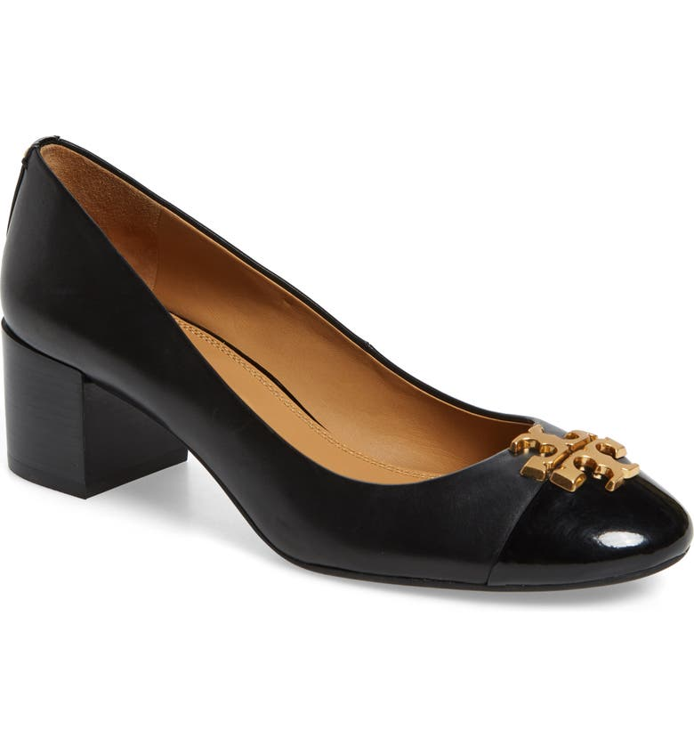 TORY BURCH Everly Cap Toe Pump, Main, color, 004