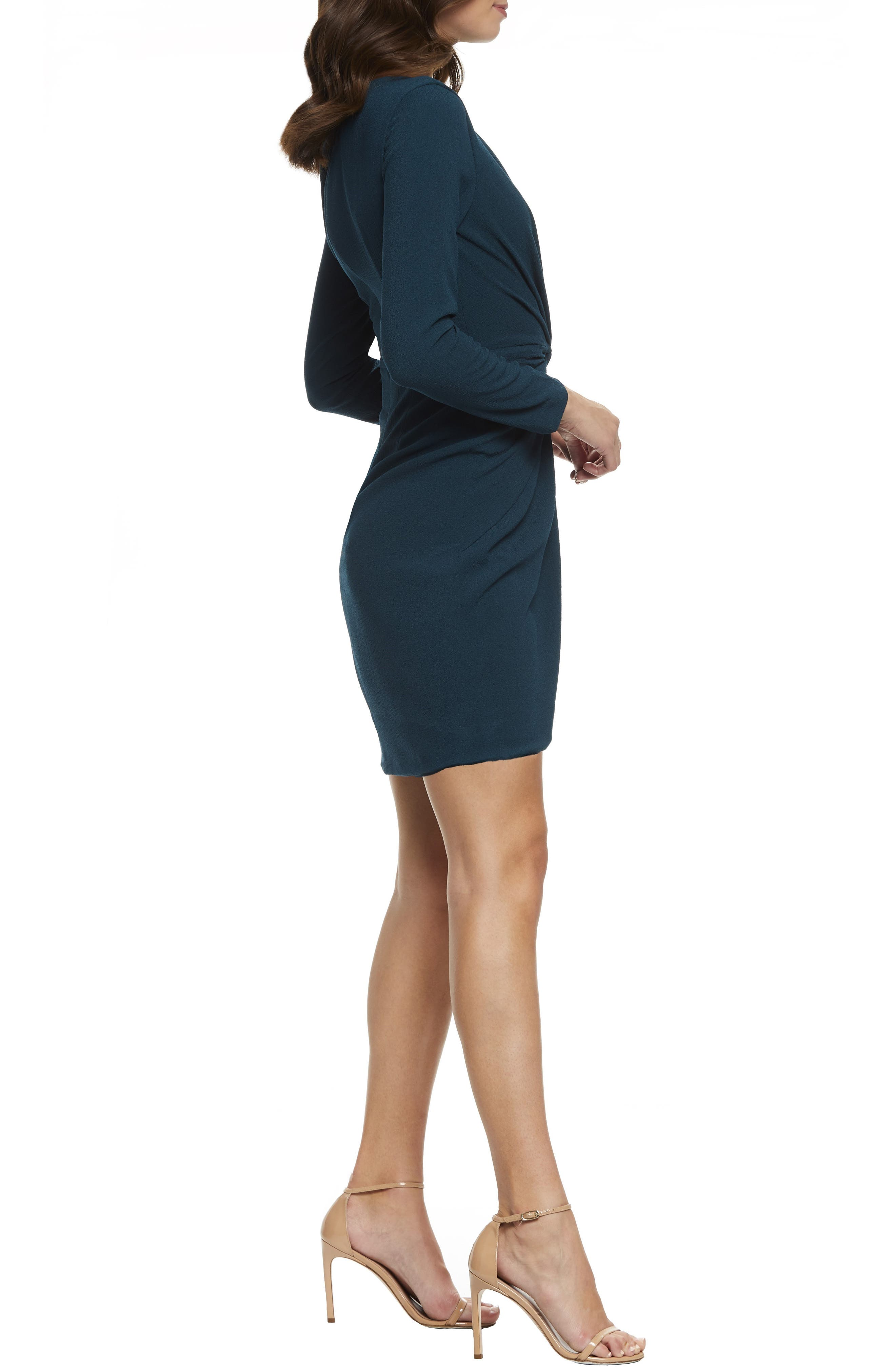 ,                             Coby Twisted Faux Wrap Cocktail Dress,                             Alternate thumbnail 9, color,                             301