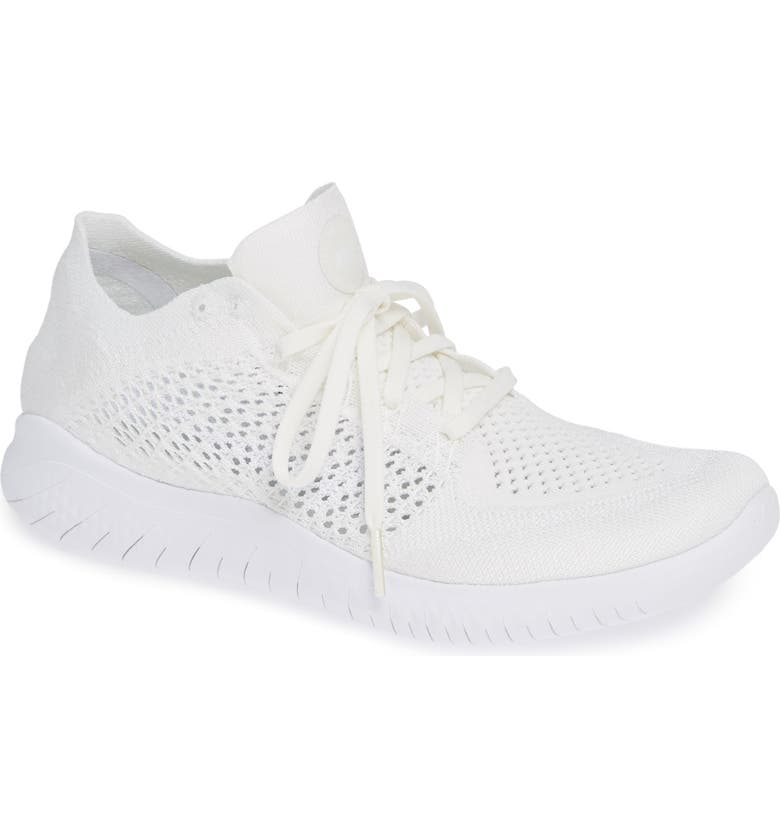 Nike Free RN Flyknit 2018 Lace Up Sneakers