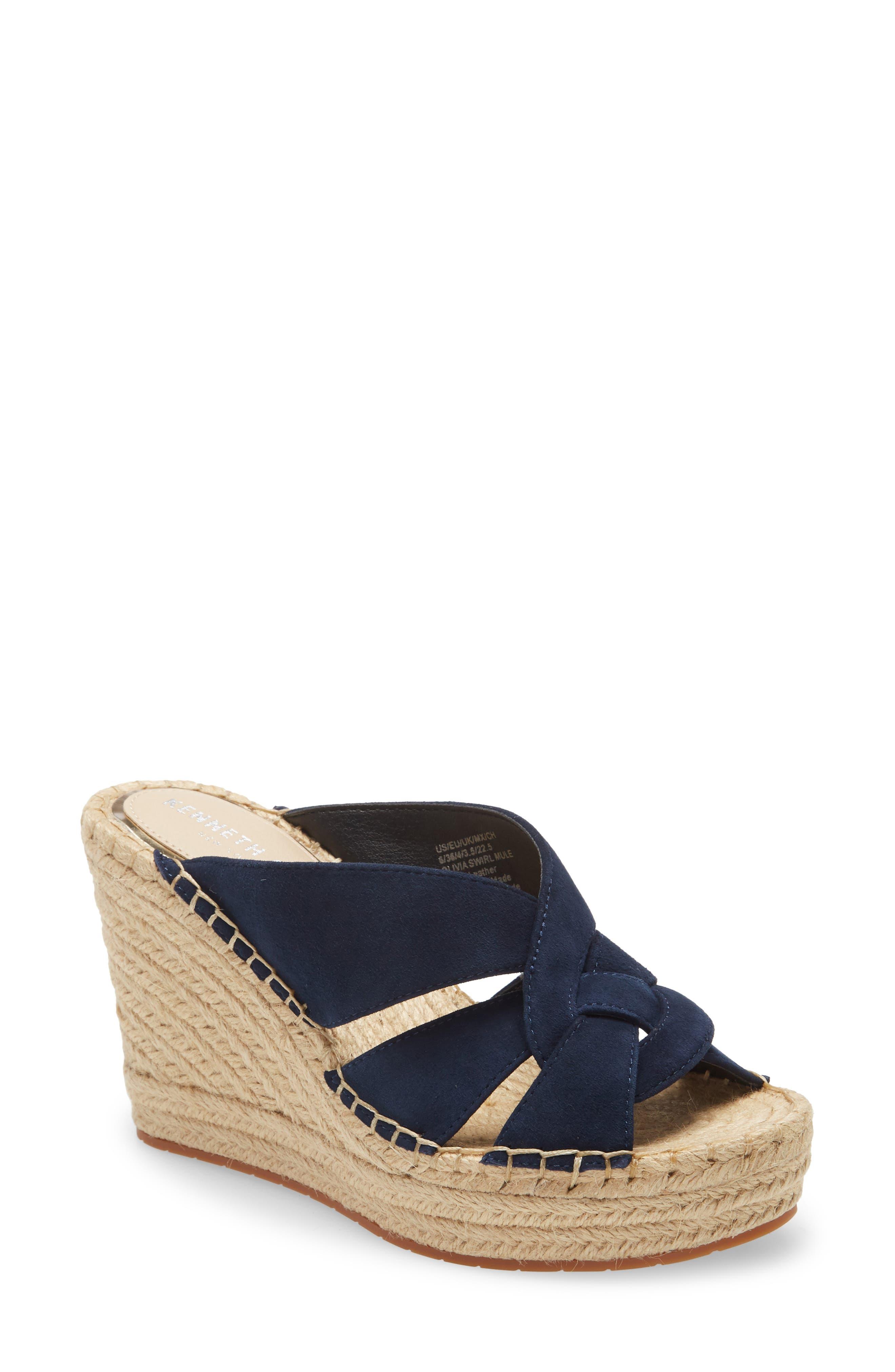 Olivia Platform Slide Sandal