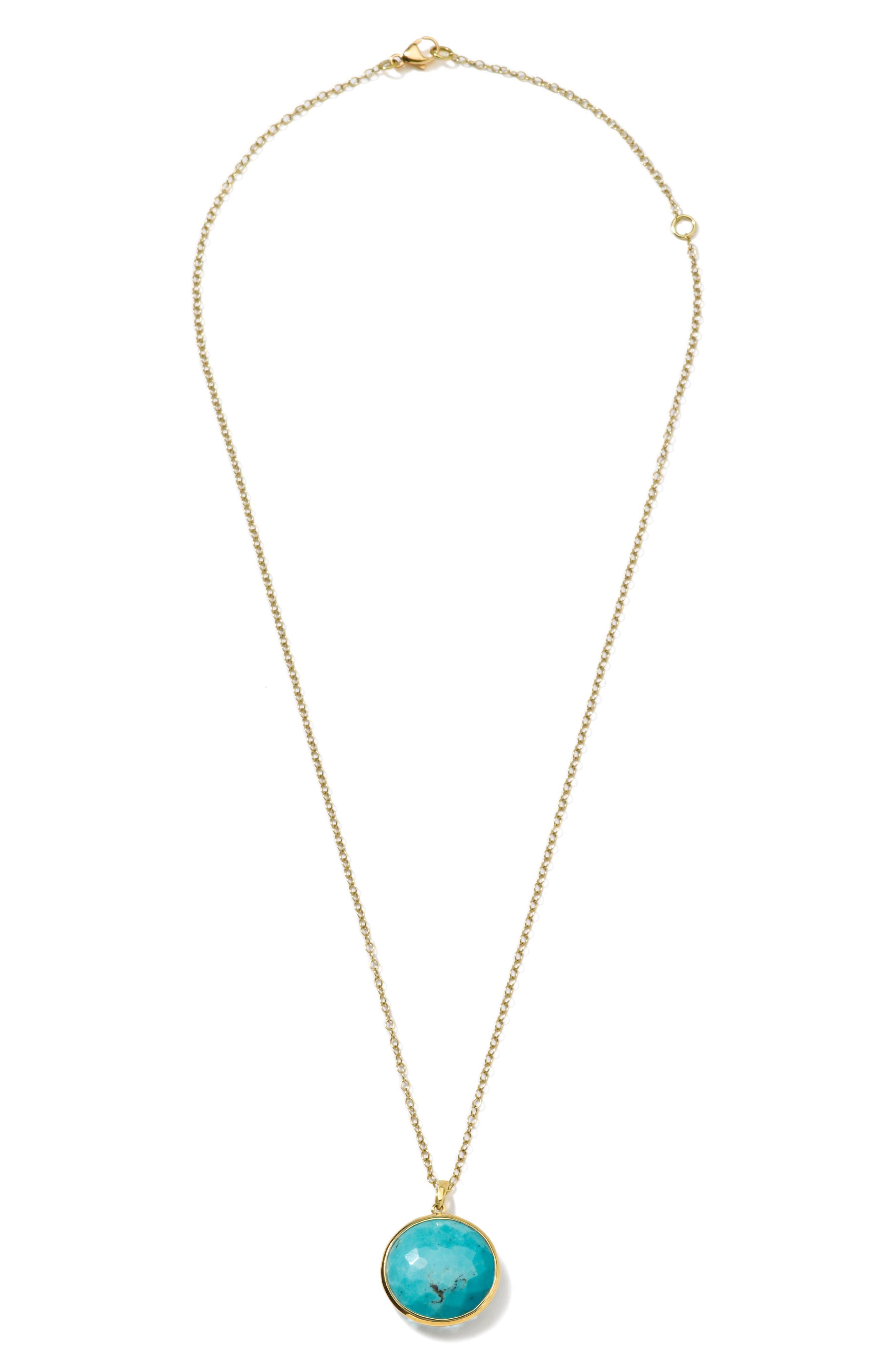 ,                             Lollipop Medium Pendant Necklace,                             Alternate thumbnail 2, color,                             TURQUOISE