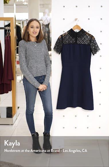 Lace Yoke Collared Dress, sales video thumbnail