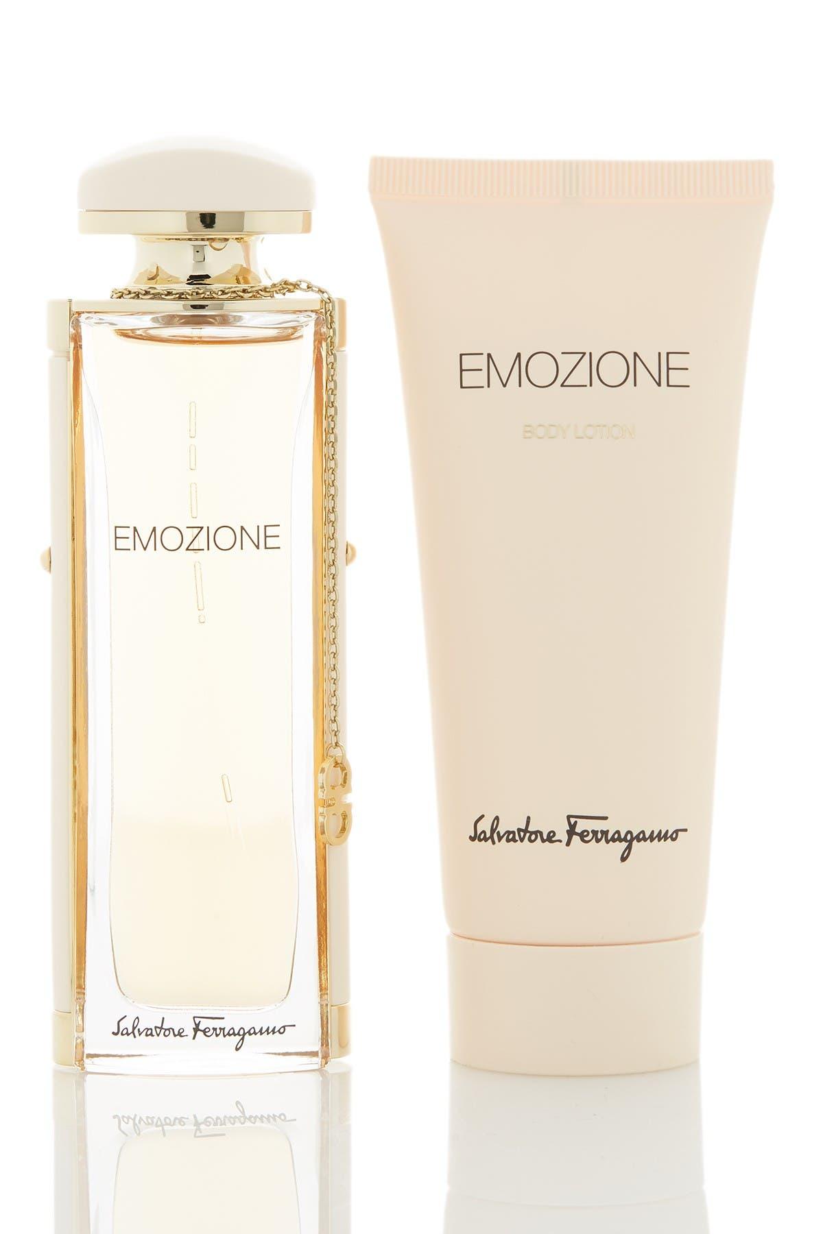 Image of Salvatore Ferragamo Emozione 2-Piece Eau de Parfum & Body Lotion Set