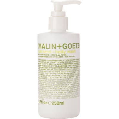 Malin+Goetz Rum Hand & Body Wash With Pump