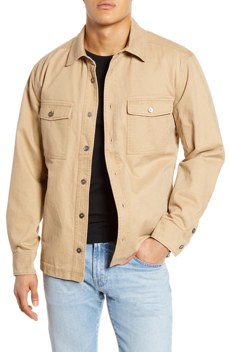 BLANKNYC Regular Fit Cotton Shirt Jacket, Main, color, 258