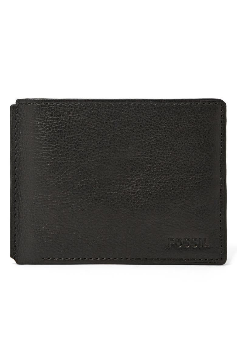 FOSSIL 'Mercer' Traveler Wallet, Main, color, 001