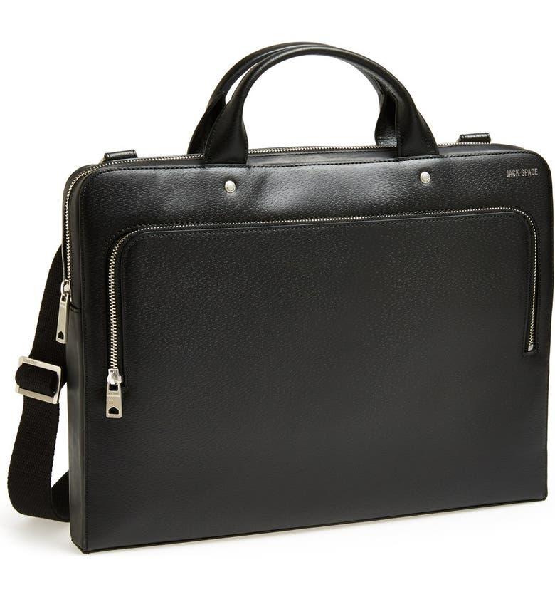 JACK SPADE 'Grant' Briefcase, Main, color, 001