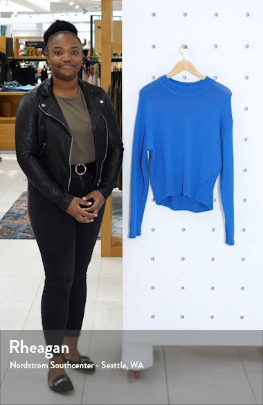 Oversize Cotton Blend Sweater, sales video thumbnail
