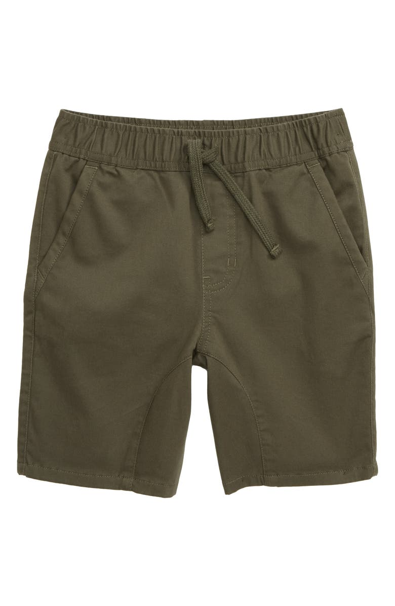 TUCKER + TATE Knit Shorts, Main, color, OLIVE SARMA