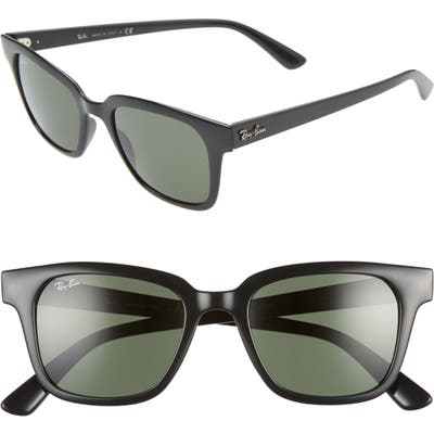 Ray-Ban 51Mm Wayfarer Sunglasses - Black/ Green