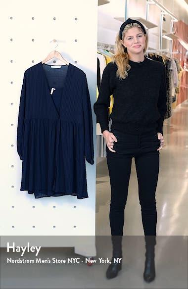 Jolie Long Sleeve Oversize Dress, sales video thumbnail