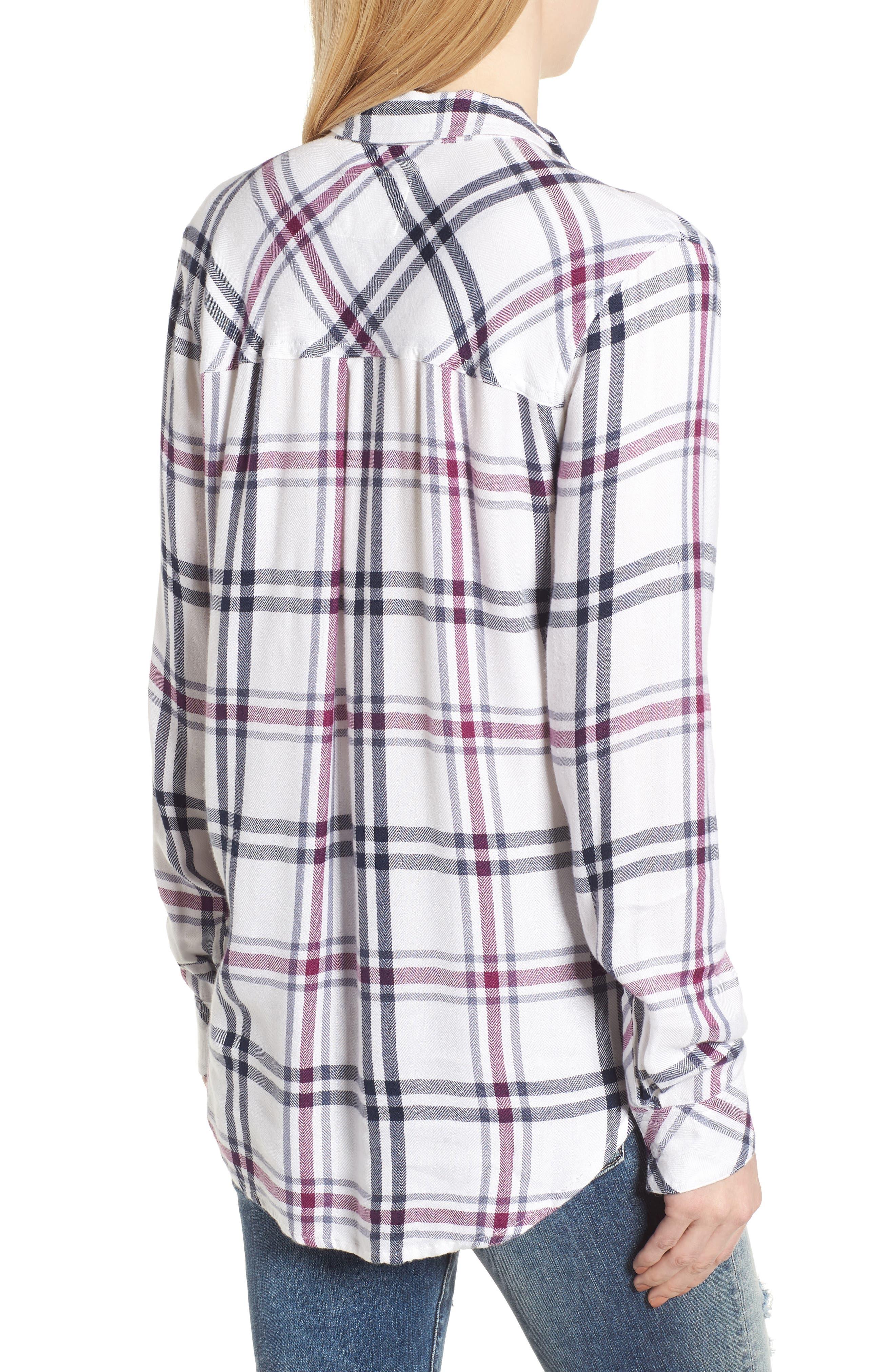 ,                             Hunter Plaid Shirt,                             Alternate thumbnail 694, color,                             199